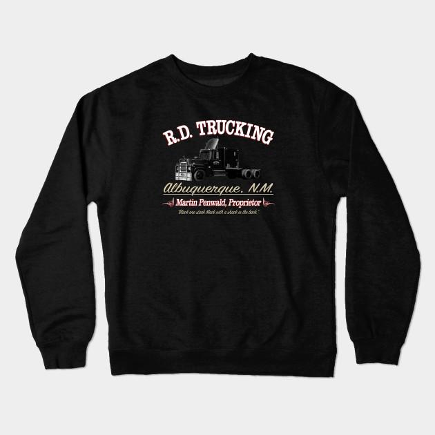 Rd Trucking Custom Rubber Duck Crewneck Sweatshirt Teepublic