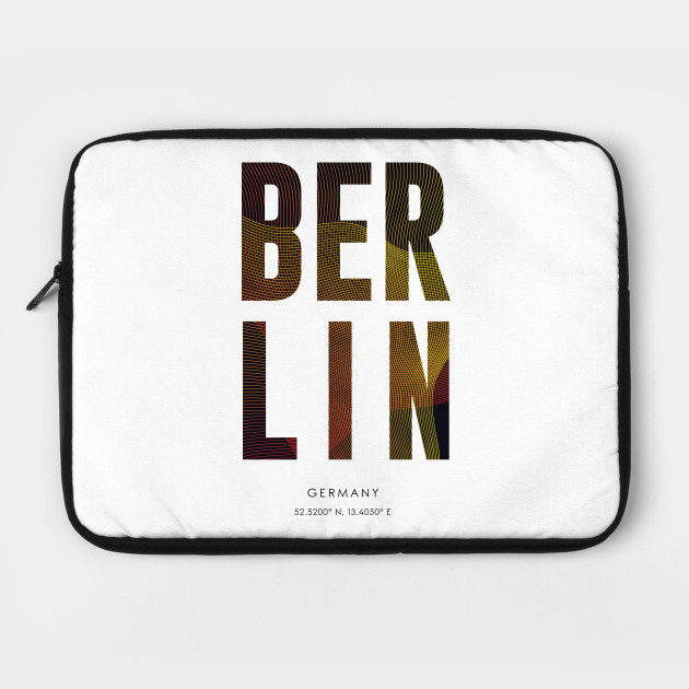 Berlin City typography