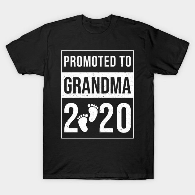 Promoted To Grandma Est 2020 Shirt First Time T