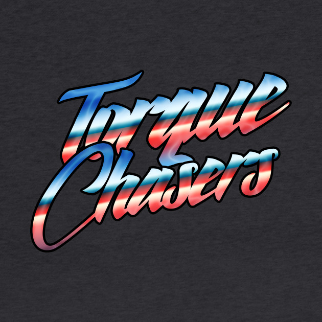 Torque Chasers Retro text