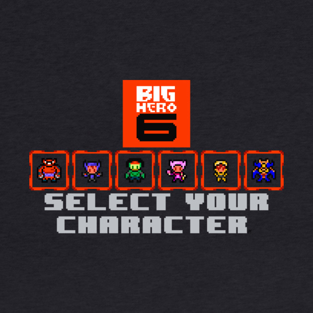 Big Hero 6 Select Screen