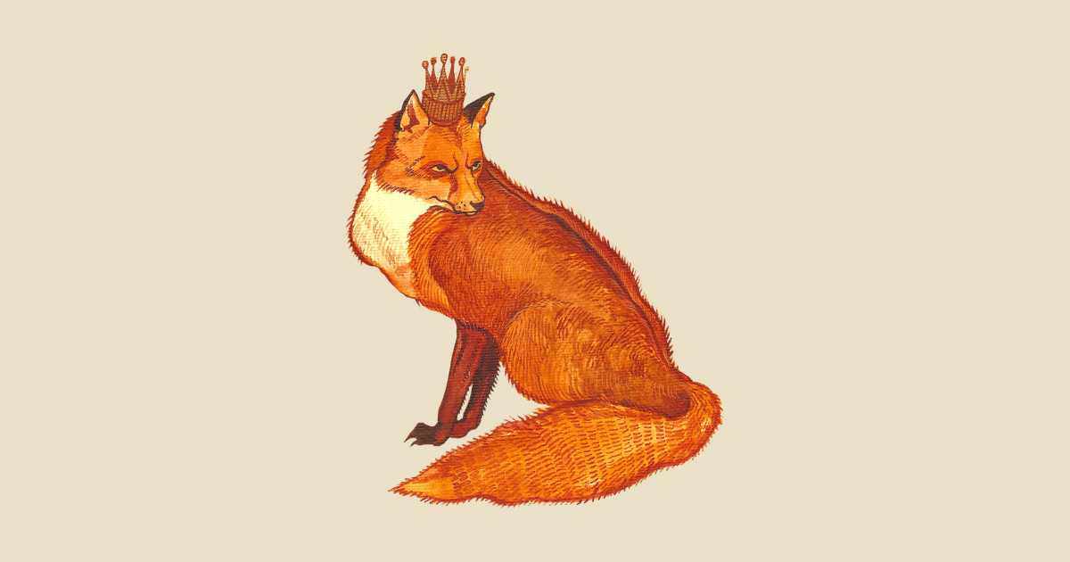 них есть картинка лиса с короной стремимся тому