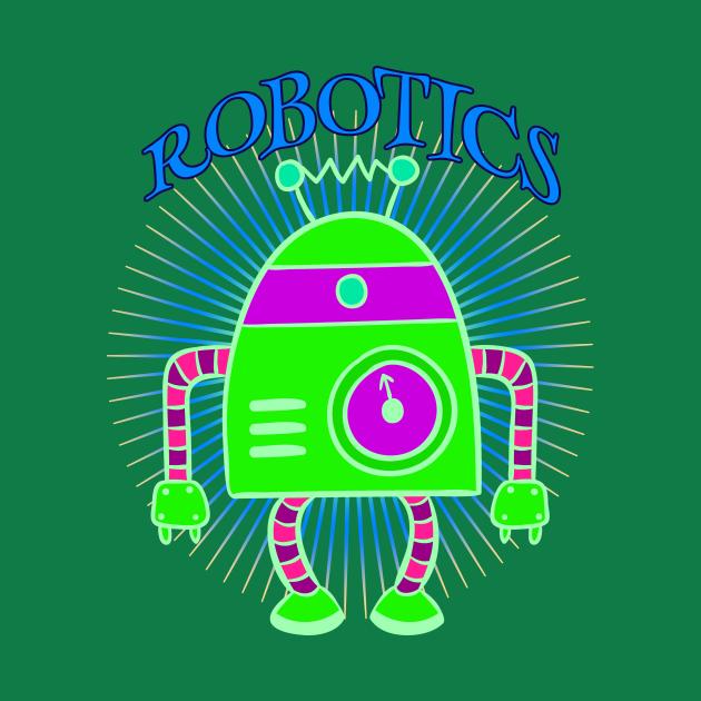Robotics Green Robot