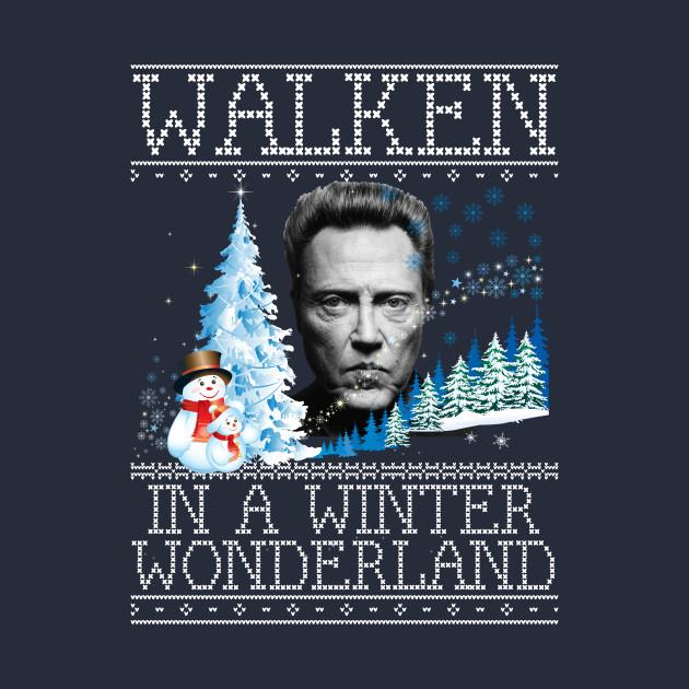 Walken In A Winter Wonderland Christmas Knit