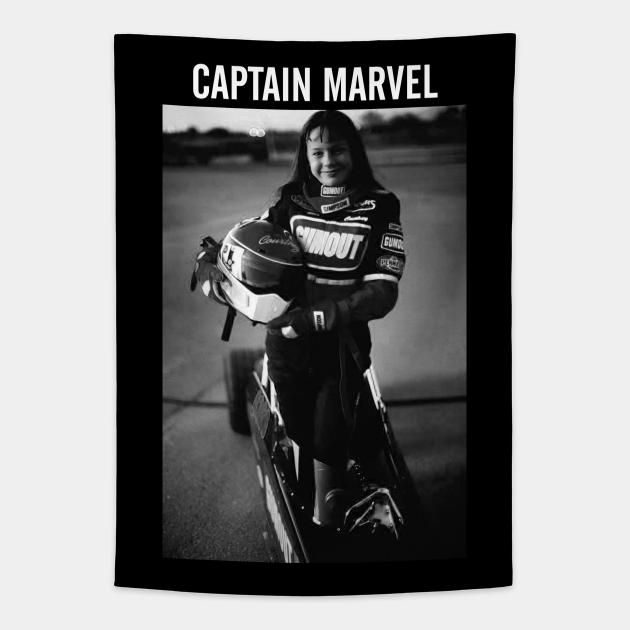 Captain Marvel Throwback