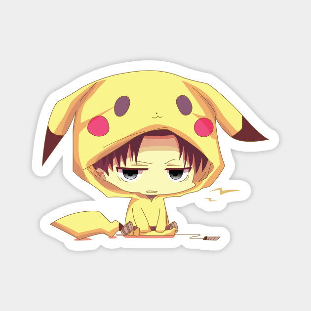 Levi Ackerman In Cute Pikachu Cosplay