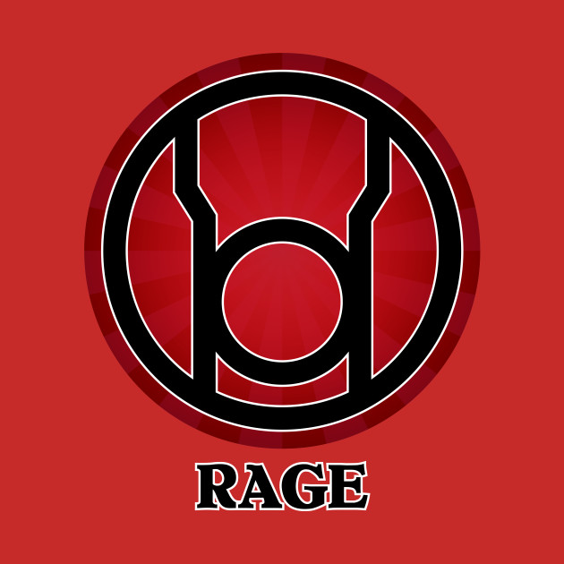 lantern corps rage