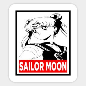Sailor Moon 90s Stickers | TeePublic