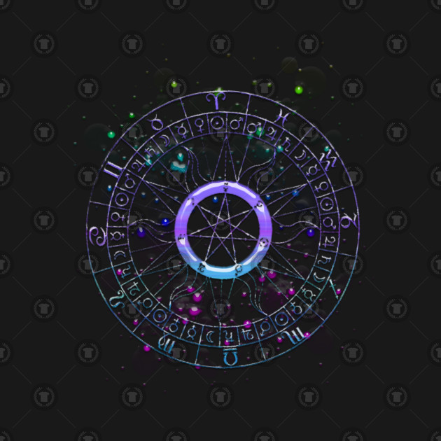 Astrology wheel (I)