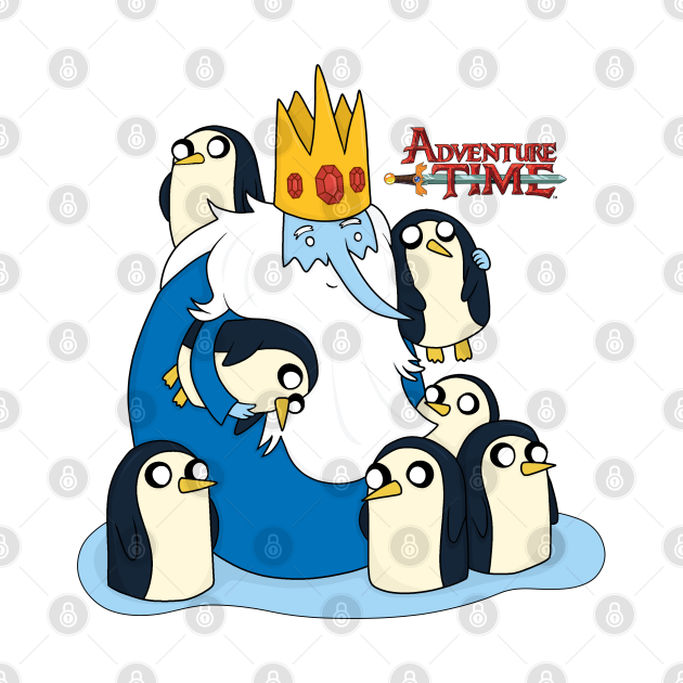 The Ice King and Penguins