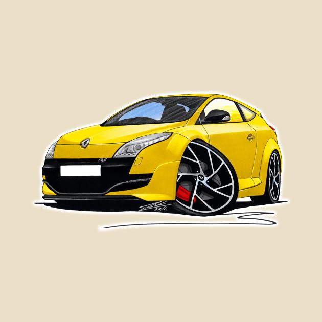 RenaultSport Megane 250 Yellow