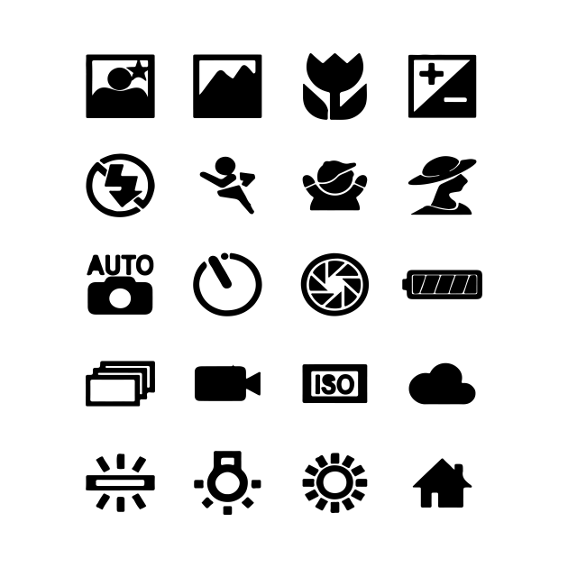 photography symbols