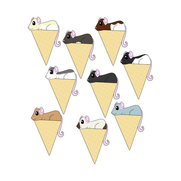 Ice Cream Rats