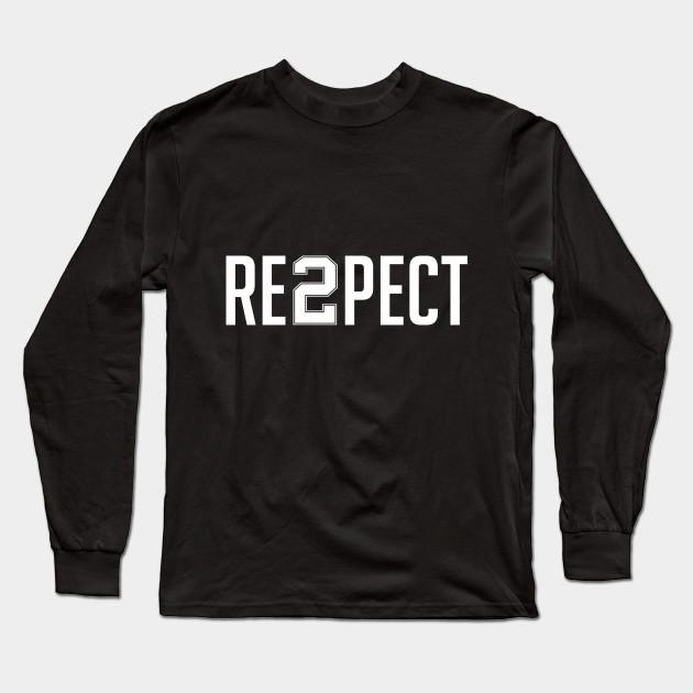 5b901441ddd Respect Derek Jeter - Respect Derek Jeter - Long Sleeve T-Shirt ...