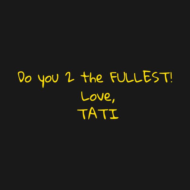 Tati's Mirror Message - Season 2