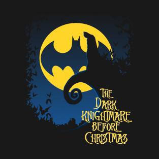 The Dark Knightmare t-shirts