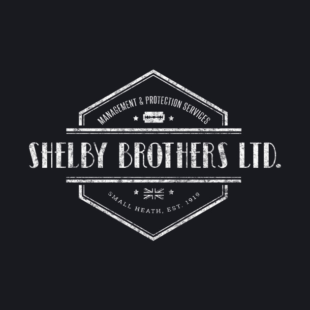 Peaky Blinders - Shelby Brothers - White Dirty