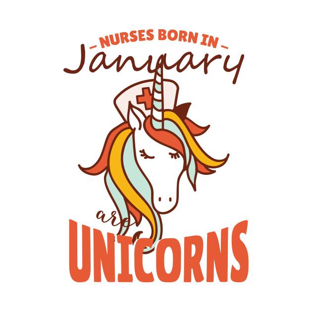 January Nurse Unicorn