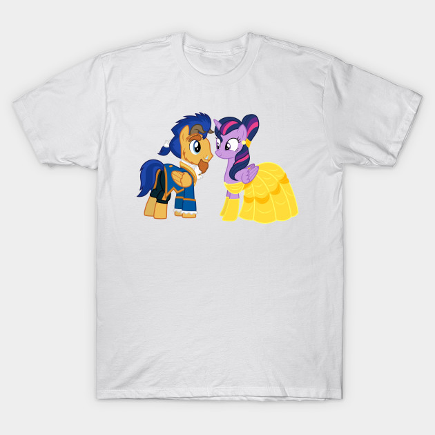 Flash Sentry And Twilight Sparkle Beauty And The Beast My Little