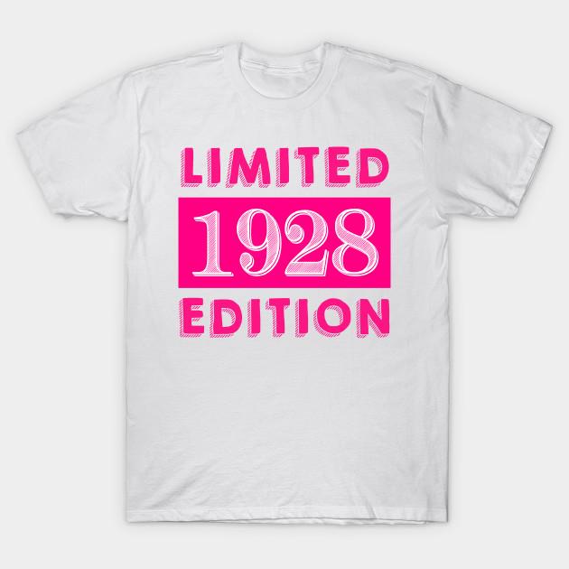 1928 Limited Edition 90th Birthday