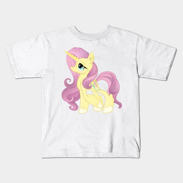 My Little Pony Generation 5 G5 Fluttershy Unicorn My Little Pony Kids T Shirt Teepublic