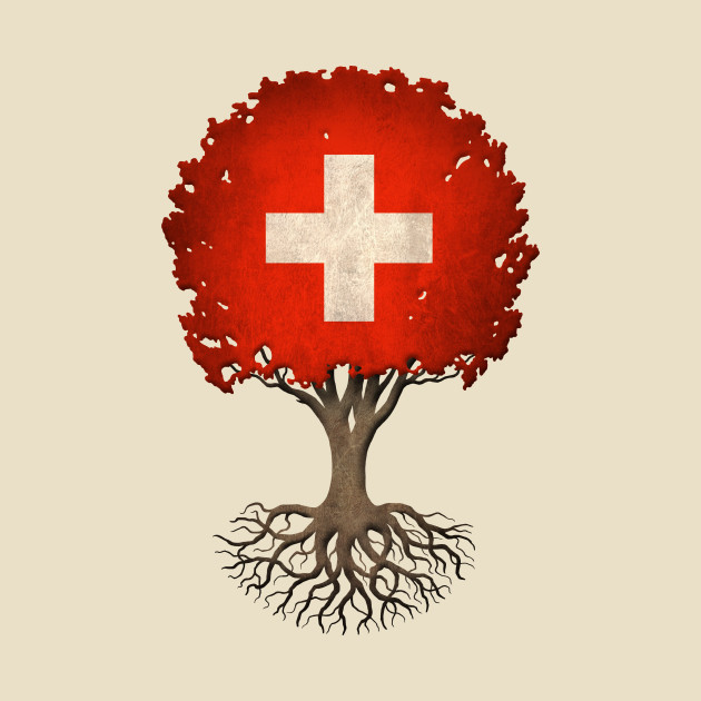 Tree of Life with Swiss Flag