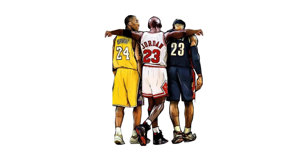 new styles 3a11a 754bd Kobe Bryant x Michael Jordan x Lebron James by xavierjfong