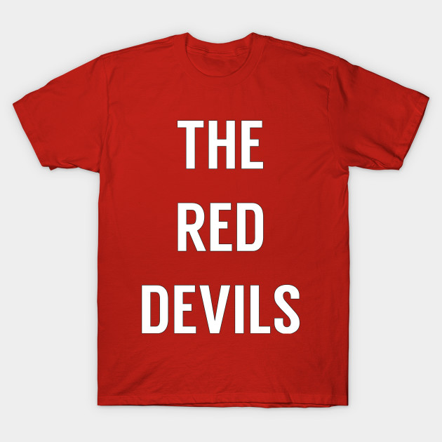 c252f6fe7 The Red Devils - Manchester United - Mufc - T-Shirt