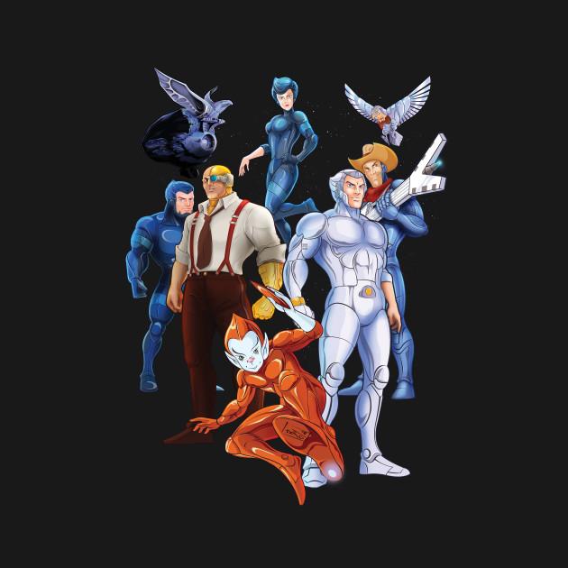 silverhawks 1980s tshirt teepublic