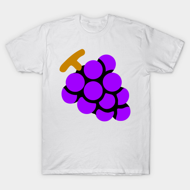 Purple Grapes Emoticon
