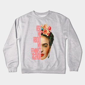 b53ee658 Crewneck Sweatshirts Featuring Frida Kahlo and More Artists | TeePublic