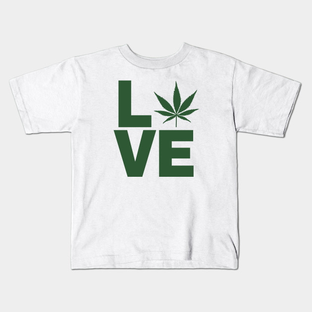 High Quality Pot White Logo Cannabis T-Shirt Stoner Hippie Marijuana Weed Gas