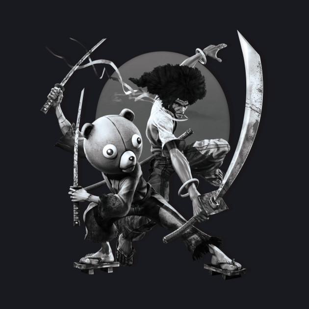 Black ' N White Samurai