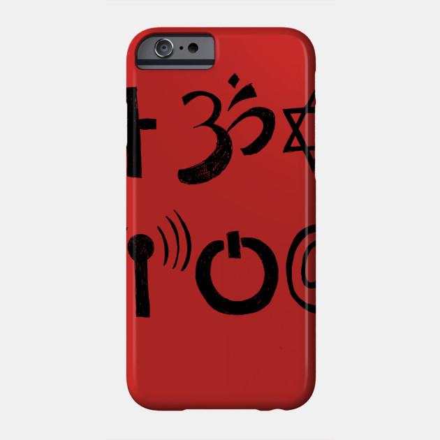 A Study Of Symbols Symbology Phone Case Teepublic