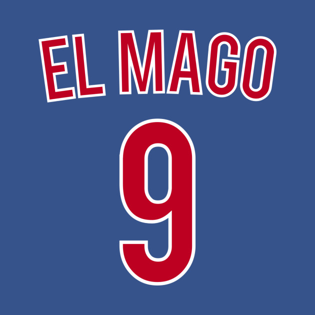 best sneakers 337ba 93b25 Javier Baez - El Mago - Baseball Nickname Jersey