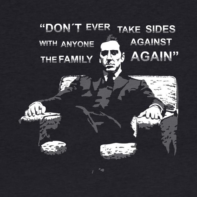 Michael Corleone (with quote)