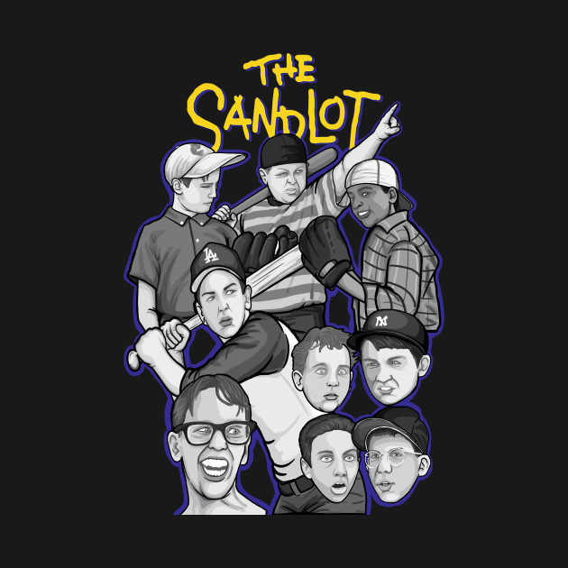 The Sandlot character collage