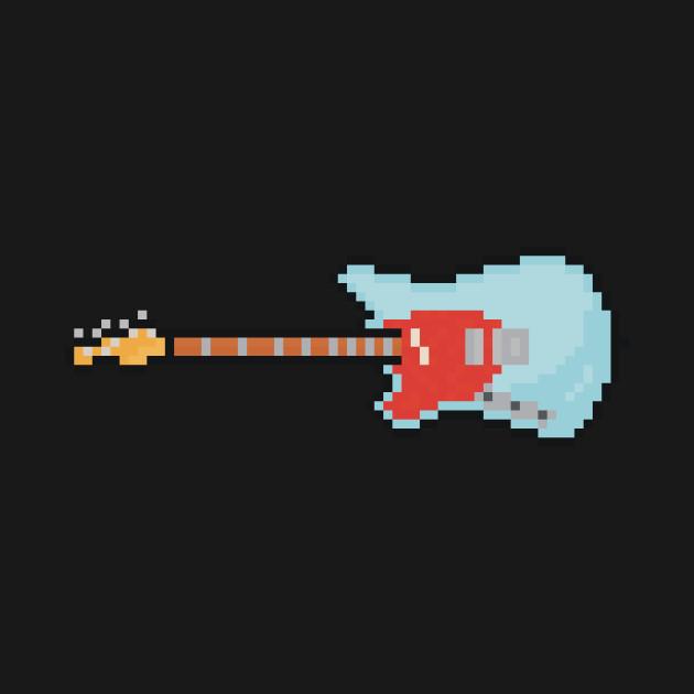 Pixel Lefty Mustang Guitar