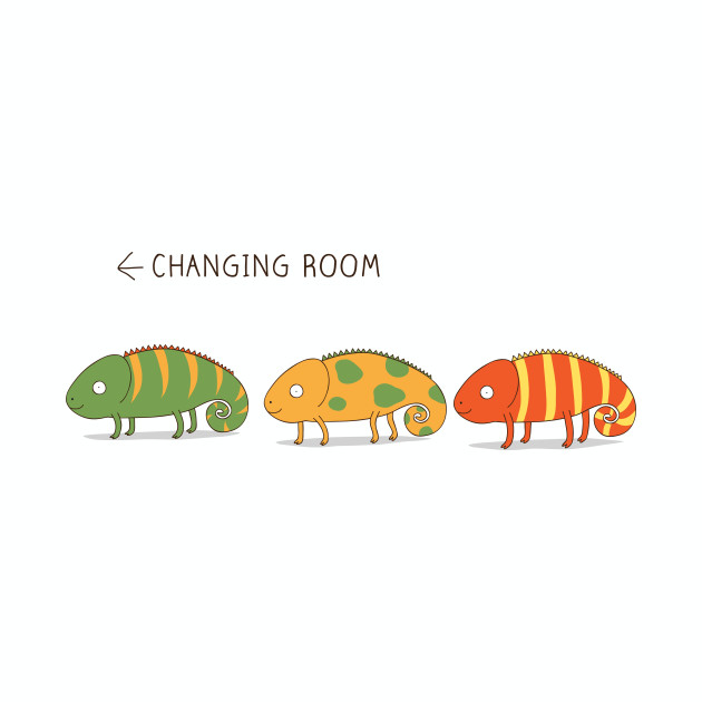 changing chameleon