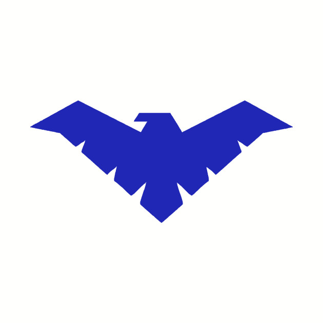 Young Justice Nightwing Symbol
