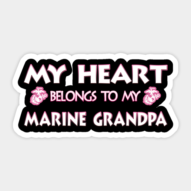 I love My Marine Grandpa