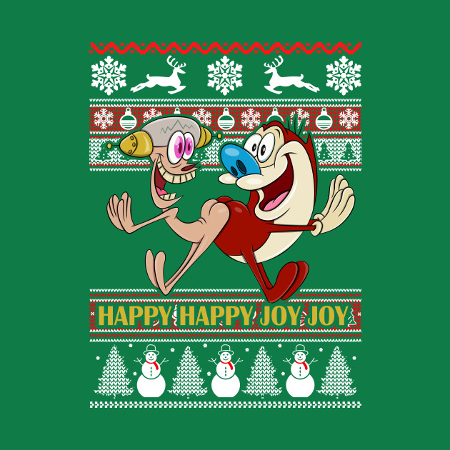 Happy Happy Joy Joy Ugly Christmas Sweater