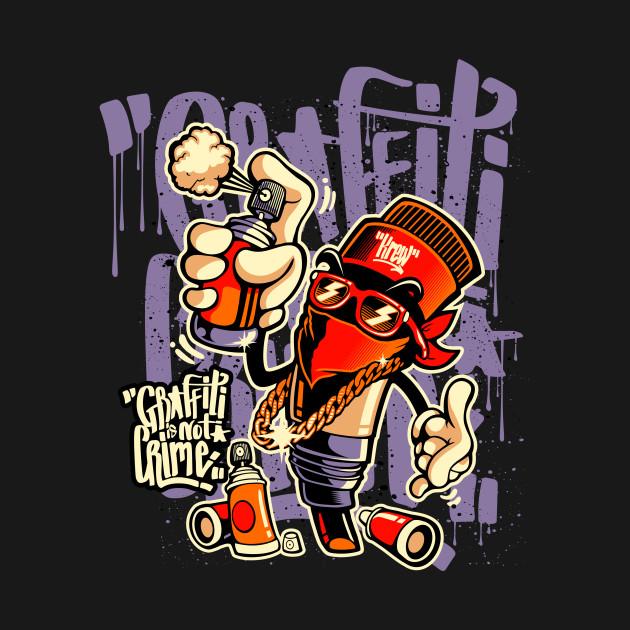 714f3076 ... Graffiti Is Not Crime Graffiti Skateboard Urban Skater Gift