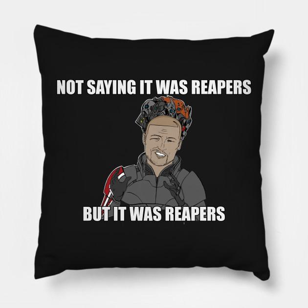 Reapers Shirt Commander Shepard Aliens Meme Mass Effect