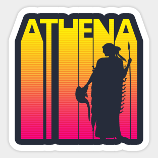 ig5683 Details about  /Vinyl Wall Decal Athena Ancient Greek Goddess Antiquity Greece Stickers