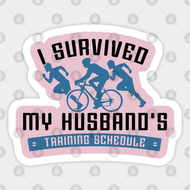 Funny Triathlon Wifes Triathlete Gifts