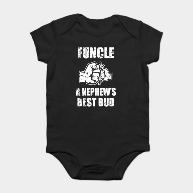99702ce9 Mens Funcle Definition a Nephew's Best Bud - Funny Uncle Shirt Onesie