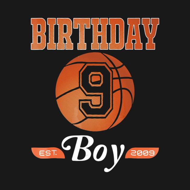 9th Birthday Shirt Boy