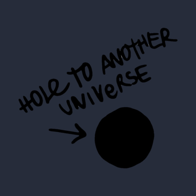 Hole to another universe - Life is Strange
