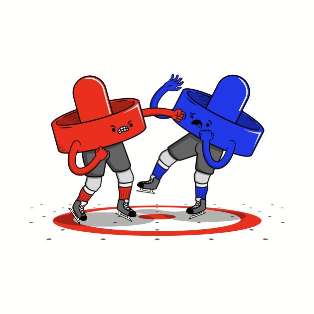 Air Hockey Brawl